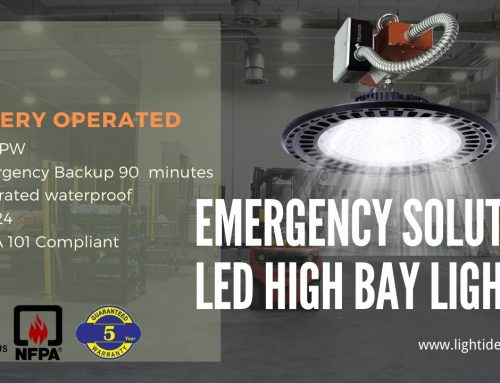 High Bay LED Emergency Lighting Fixture Process