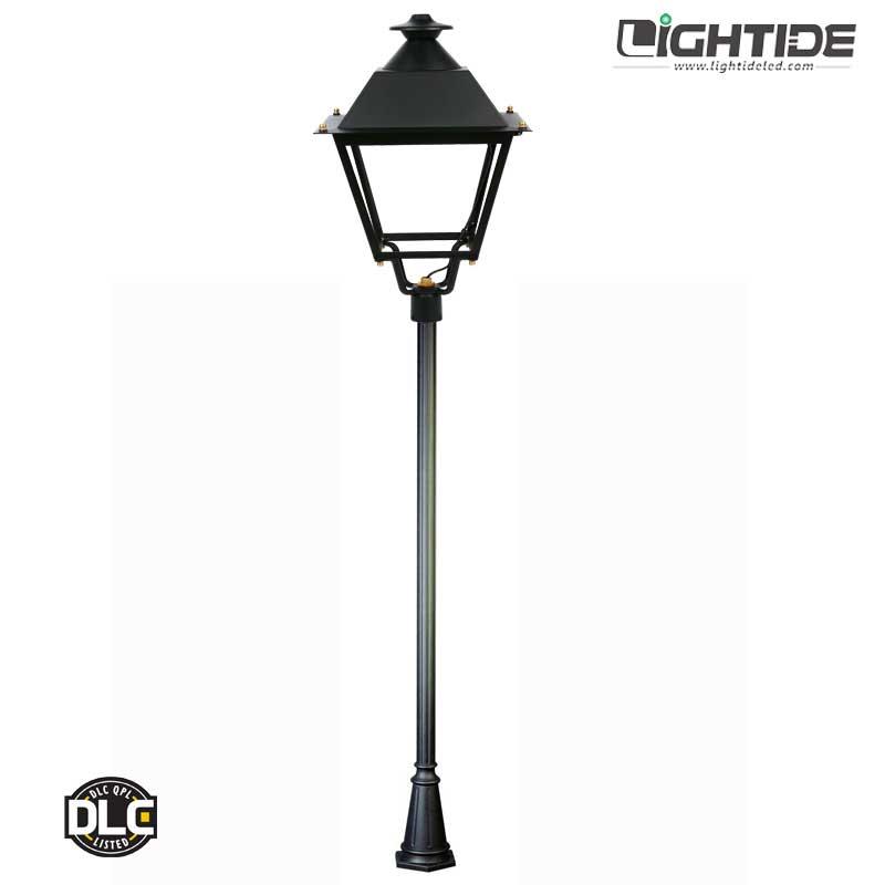 Lightide-DLC-QPL-outdoor-led-post-top-lightS