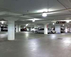 led parking garage canopy light