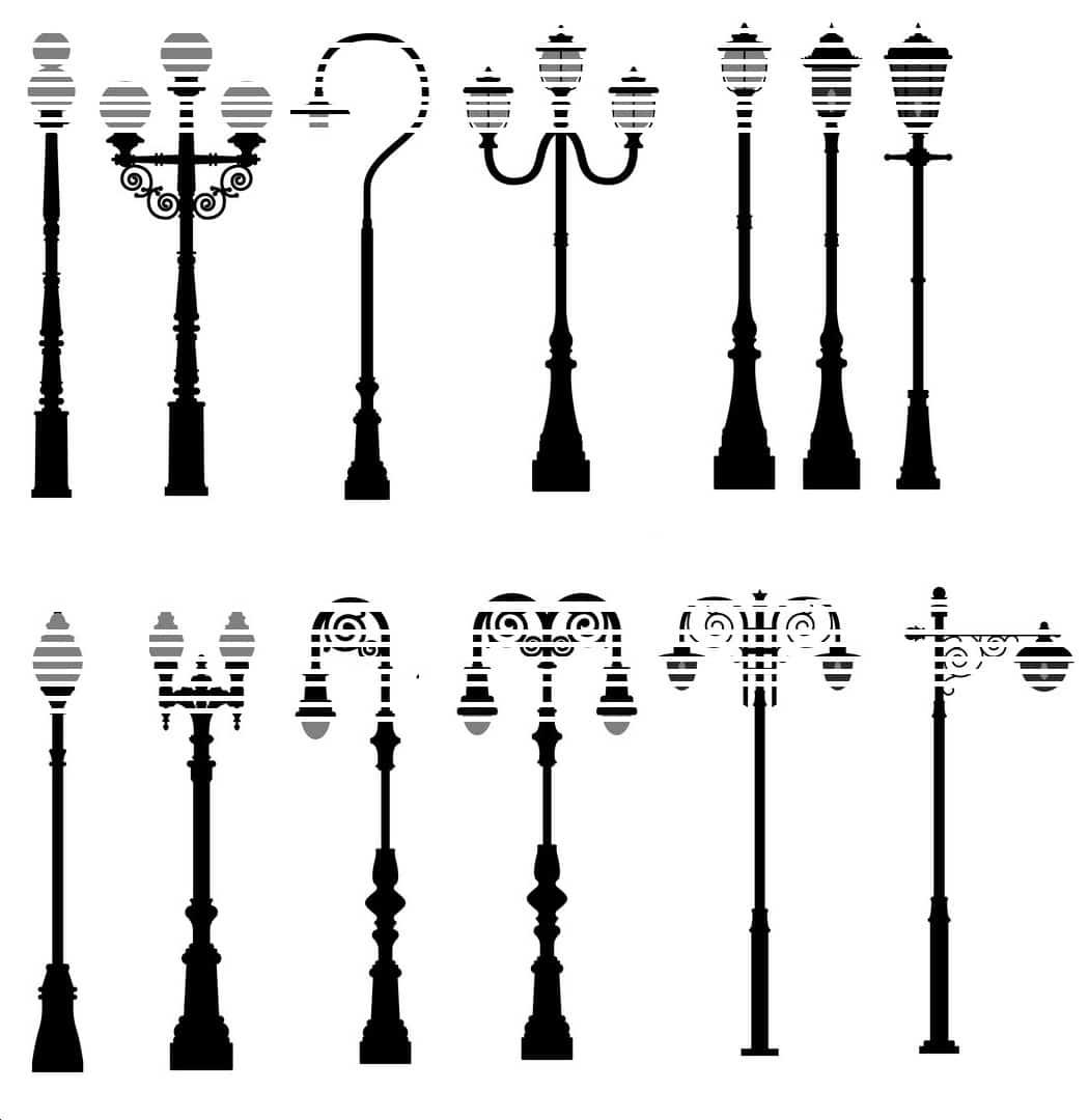 Lightide Lamp Post style
