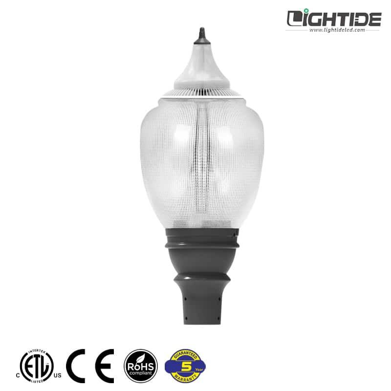Lightide-LED-Acorn-Street-Light-Gargen--Post-Top-30w-60w