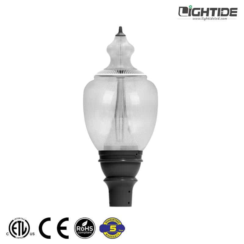 Lightide-LED-Acorn-Street-Light-&-Post-Top-30w-60w