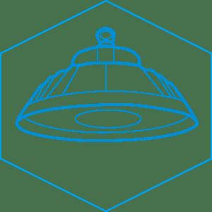 ufo led high bay light drawing-BE1